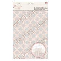 A4 Vellum and Laser Cut Paper Pack (16pk) - Capsule - Moroccan Haze