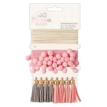 Embellishments Pack (10pcs) - Capsule - Moroccan Haze
