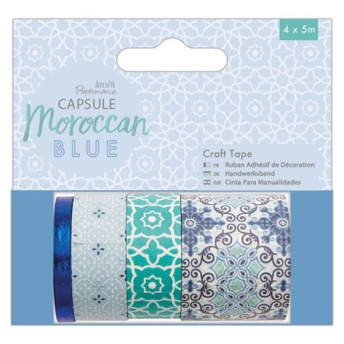 Craft Tape (4 x 5m) - Capsule - Moroccan Blue