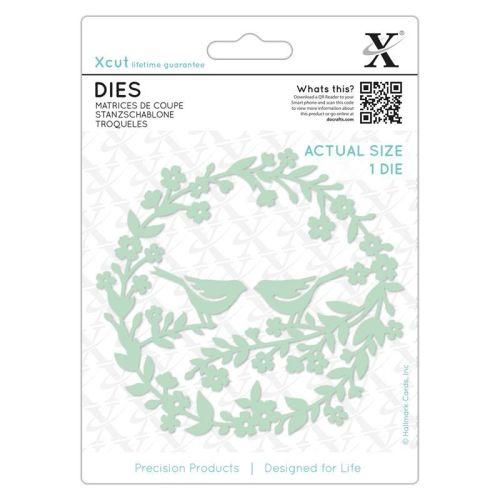 Dies (1pc) - Bird Wreath