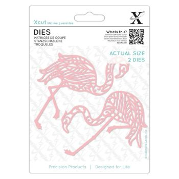 Dies (2pcs) - Tropical Flamingo