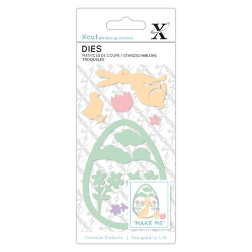 Small Dies (7pcs) - Easter Rabbit