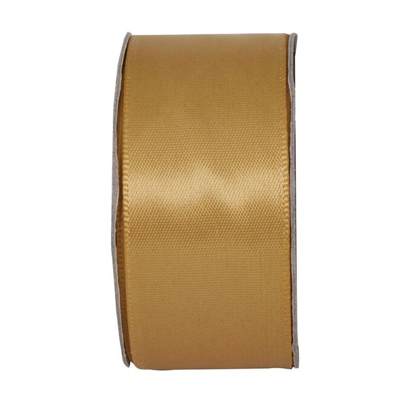 Everyday Ribbons 3m - Wide Satin - Golden Shine