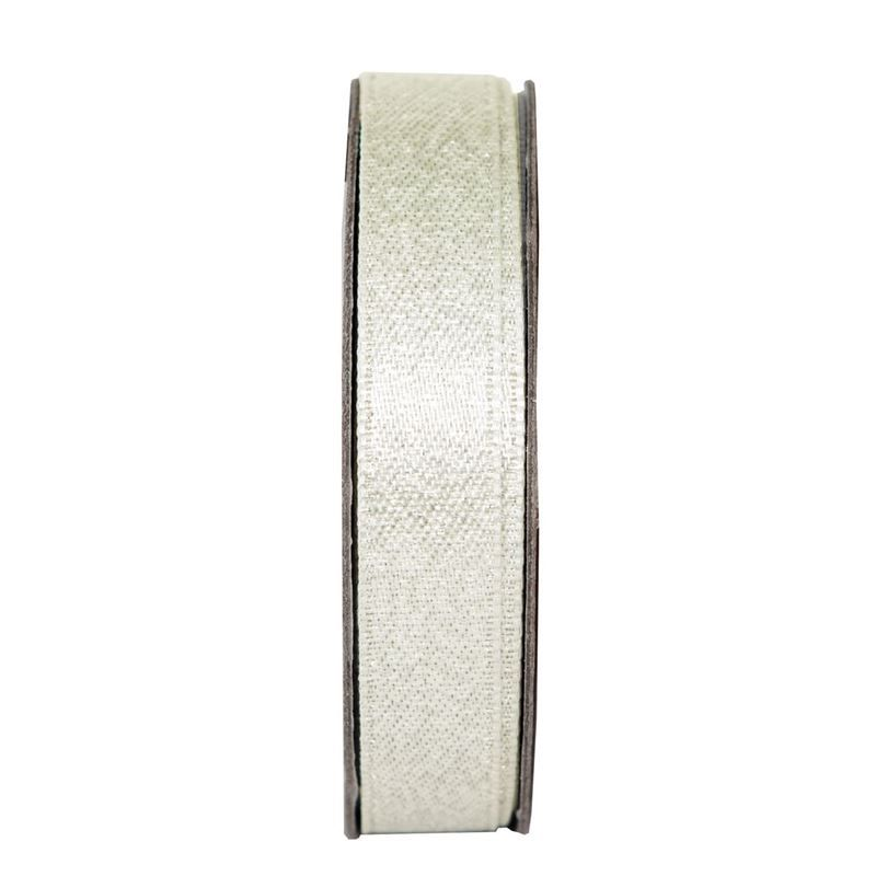 Everyday Ribbons 3m - Glitter Satin - Cream Blush