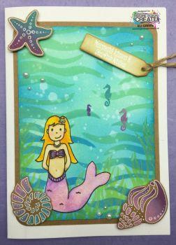 melody shells and seaweed