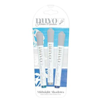 Midnight Shadows - Glitter Marker set by Nuvo