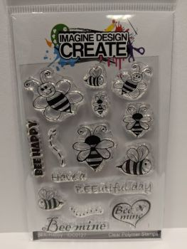 Bee Happy: IDC0127- A7 Stamp set