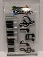 Notes & Keys A7 stamp set