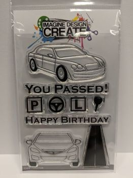 Cars: IDC0124 - A6 stamp set