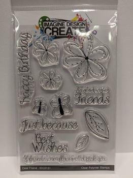 Dear Friend: IDC0131- A6 stamp set