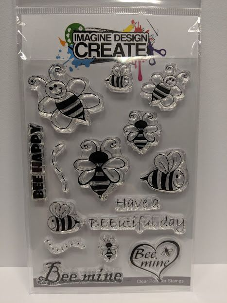 BEE Happy A6 stamp set
