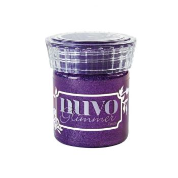 Nuvo Glimmer Paste - Amethyst Purple