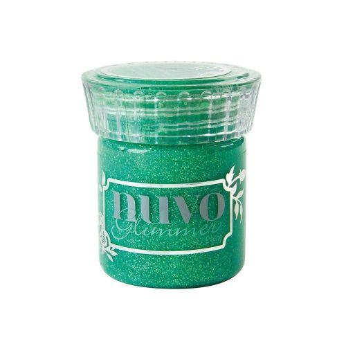 Nuvo Glimmer Paste - Peridot Green