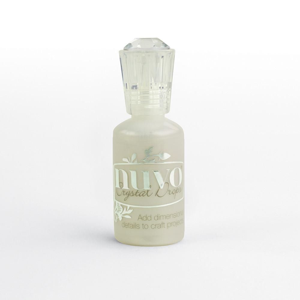 Nuvo Crystal Drops - Oyster Grey