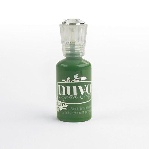 Nuvo Crystal Drops Gloss- Woodland Green