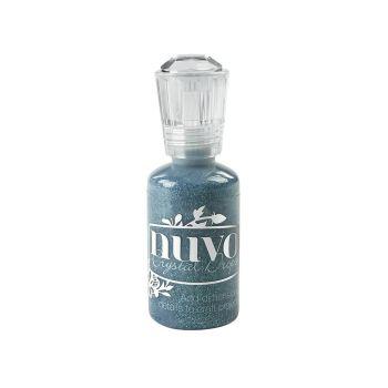 Nuvo Glitter Drops- Dazzling Blue