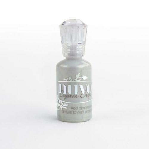 Nuvo Crystal Drops - Metalic Silver