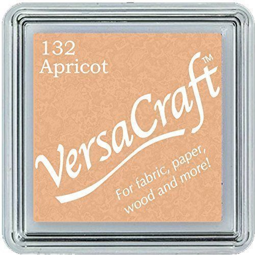 Versacraft Small Fabric Ink Pad for Stamps - Apricot 132