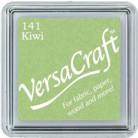 Versacraft Small Fabric Ink Pad for Stamps - Kiwi 141