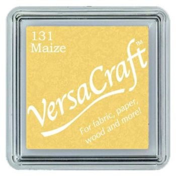 Versacraft Small Fabric Ink Pad for Stamps - Maize 131
