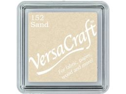 Versacraft Small Fabric Ink Pad for Stamps - Sand 152
