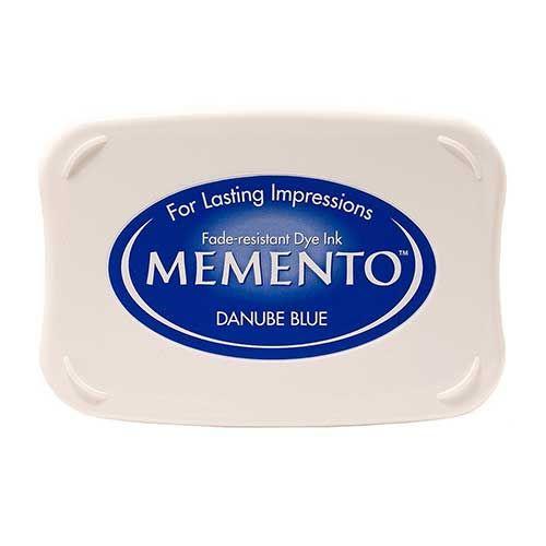 Memento Dye Ink Pad - Danube Blue