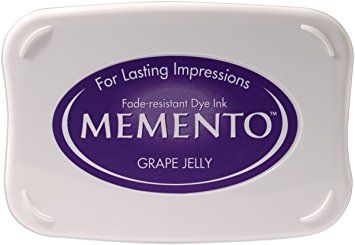 Memento Dye Ink Pad - Grape Jelly