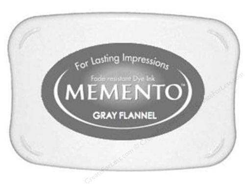 Memento Dye Ink Pad - Gray Flannel