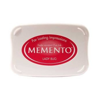 Memento Dye Ink Pad - Lady Bug