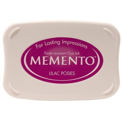Memento Dye Ink Pad - Lilac Posies