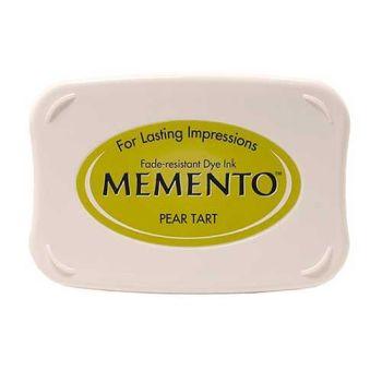 Memento Dye Ink Pad - Pear Tart