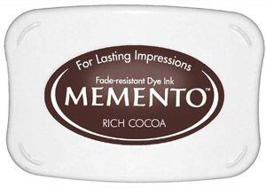 Memento Dye Ink Pad - Rich Cocoa