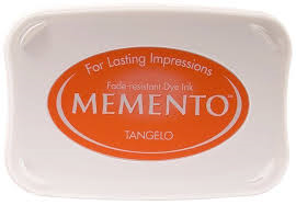 Memento Dye Ink Pad - Tangelo