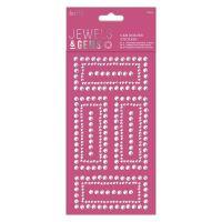 Gem Border Stickers (12pcs) - Jewels & Gems