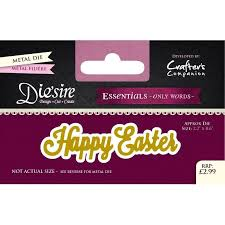 Diesire - Essentials only words - Happy Easter