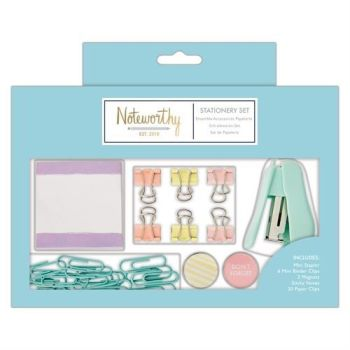 Small Stationery Set - Pastel Hues