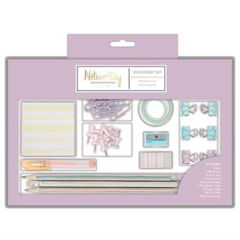 Large Stationery Set - Pastel Hues