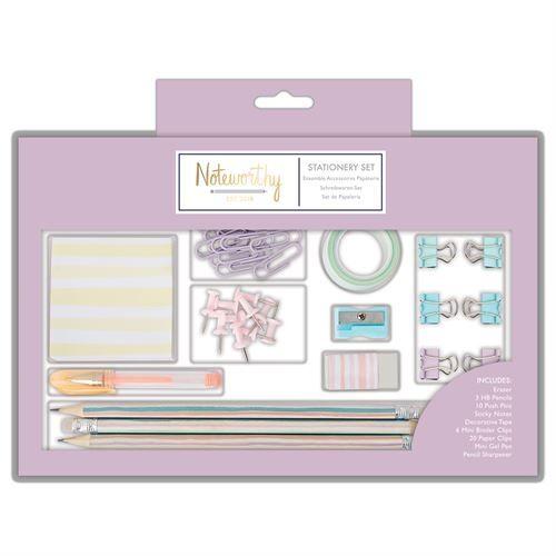 Large Stationery Set - Pastel Hues