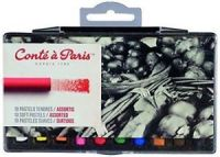 Conte Soft Pastels - 10 assorted