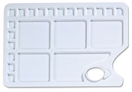 Plastic Rectangular 23 Well Palette