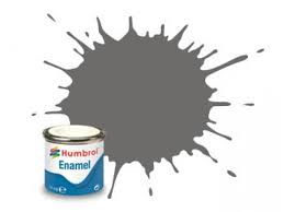 Humbrol 1 Grey Primer Matt - 14ml Enamel Paint