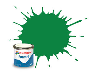 Humbrol 2 Emerald Gloss - 14ml Enamel Paint