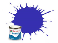 Humbrol 14 French Blue Gloss - 14ml Enamel Paint