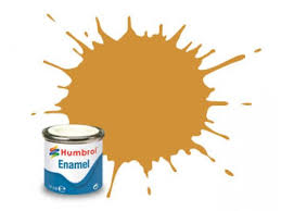 Humbrol 16 Gold Metallic - 14ml Enamel Paint
