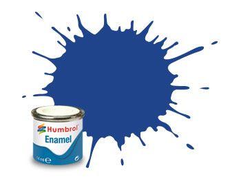 Humbrol 89 Middle Blue Matt - 14ml Enamel Paint