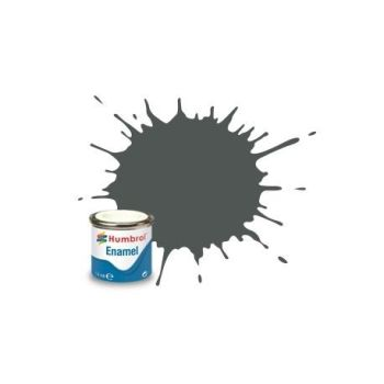 Humbrol 27 Sea Grey Matt - 14ml Enamel Paint