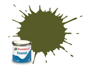 Humbrol 149 Dark Green Matt - 14ml Enamel Paint