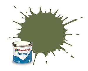 Humbrol 80 Grass Green Matt - 14ml Enamel Paint