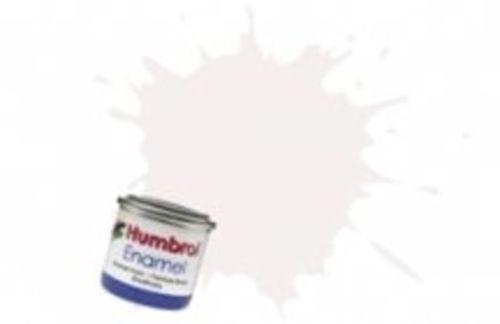 Humbrol 130 White Satin - 14ml Enamel Paint
