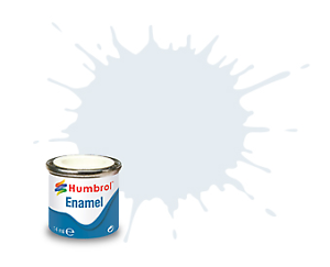 Humbrol 191 Chrome Silver Metallic - 14ml Enamel Paint
